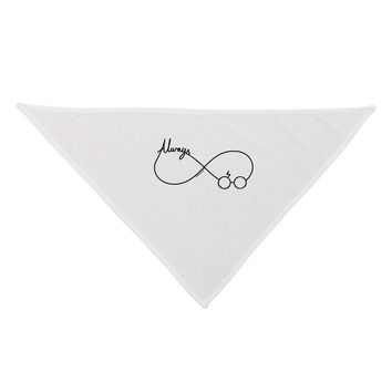 Always Infinity Symbol Dog Bandana 26