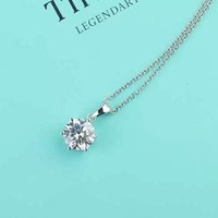 Tiffany & Co. Six-claw necklace