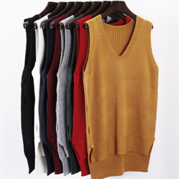 Mystery Spring/Summer Sweater Vests: Vintage Solids & Patterns: All Sizes