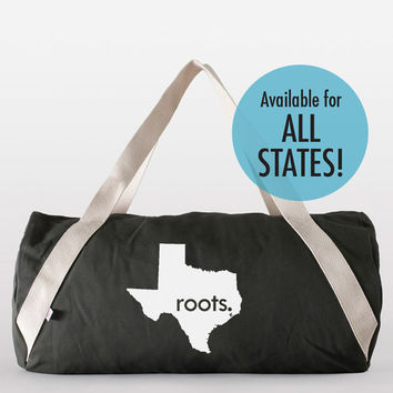 American Apparel States and Washington DC 'Roots' or 'Made' Denim Gym Bag in Assorted Colors
