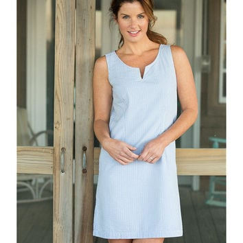 Bar Harbor Sheath Dress, Seersucker