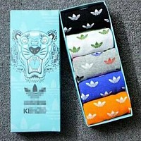 Adidas X Kenzo Trending Women Men Stylish Breathable Pure Cotton Sport Socks
