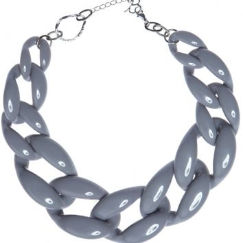 Diana Broussard - Nate Grey Necklace - Necklaces