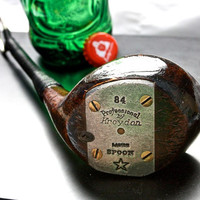 Vintage Golf Club Bottle Opener -- 1930's Kroydon Persimmons Spoon Golf Club