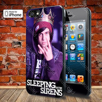 sleeping with sirens kellin quinn 2 Case For iPhone 5, 5S, 5C, 4, 4S and Samsung Galaxy S3, S4