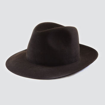 hat - beaver felt rollable