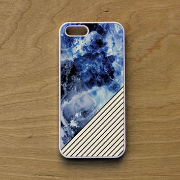 iPhone 6 Case Marble - iPhone 6 Case Lines - iPhone 6 Case White Geometric - iPhone 6 Case Blue And White - iPhone Blue Marble Case - Marble
