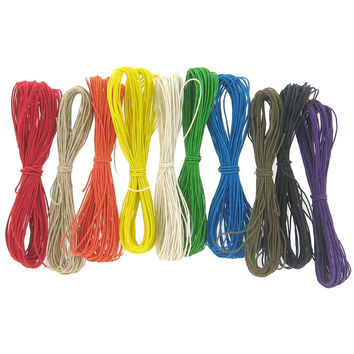 Jewel Tones 10-Color Hemp Jewelry Cord Set - 1mm | Hobby Lobby | 204206