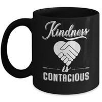 DCKIJ3 Kindness Is Contagious Mug