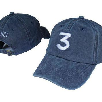DCCKHI2 2017 Chance the rapper Unisex Baseball Cap Streetwear Dad Hat coloring Book CHANCE 3