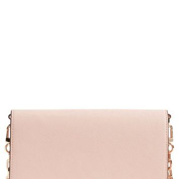 Tory Burch 'Robinson' Leather Wallet on a Chain | Nordstrom