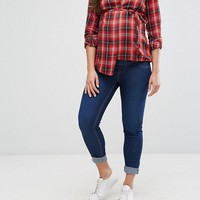 New Look Maternity Over The Bump Jegging at asos.com