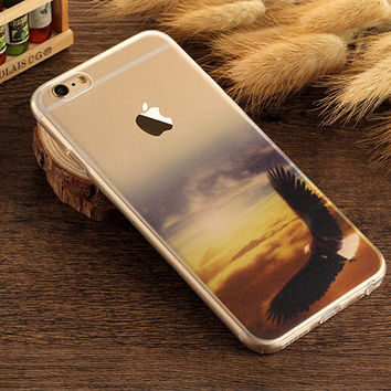 My sky Case TPU Cover for iphone 7 7 Plus & iphone 6 6s Plus & iphone se 5s + Gift Box