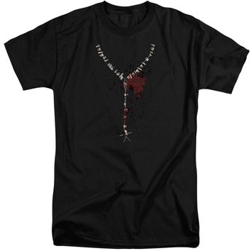 American Horror Story - Necklace Short Sleeve Adult Tall