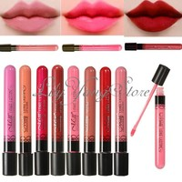 Beauty Smudge Makeup Waterproof Lip Stick Pencil Lipstick Lip Gloss Lip Pen New