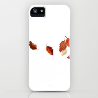 Leaves  iPhone & iPod Case by Studio Ria