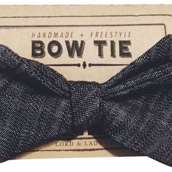 Bow Tie, Rugged Charcoal, Ties & Bowties