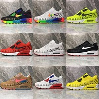 Nike Air Max 90 KPU Drop Plastic Upper Men Running Shoes - Best Deal Online