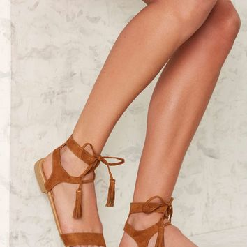 Pomona Gladiator Sandal - Brown