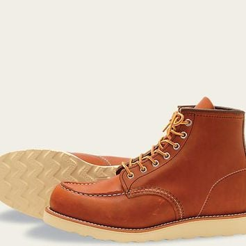 RED WING CLASSIC MOC MENS BOOTS