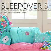 Sleepover Shop | PBteen