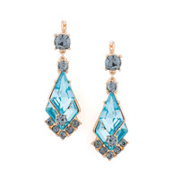 Krishna Aqua Earrings