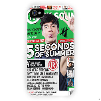 Calum Hood 5 Seconds Of Summer Poster For iPhone 4 / 4S Case