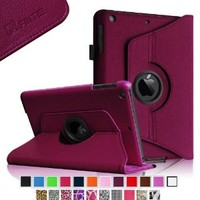Fintie iPad mini 1/2/3 Case - 360 Degree Rotating Stand Case Cover with Auto Sleep / Wake Feature for Apple iPad mini 1 / iPad mini 2 / iPad mini 3, Purple