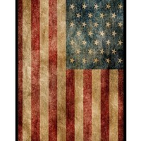 American Flag Rugged - Apple iPhone 4 Case - iPhone 4s Case - Hard Plastic Case