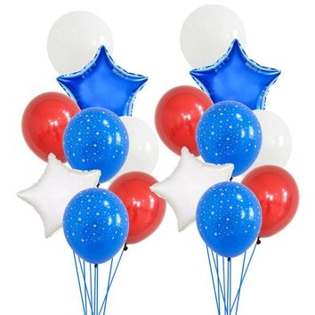 American Independence Day Stars And Stripes Foil Balloons Usa Independence Day Decorations Usa Party Supplies Birthday Balloon