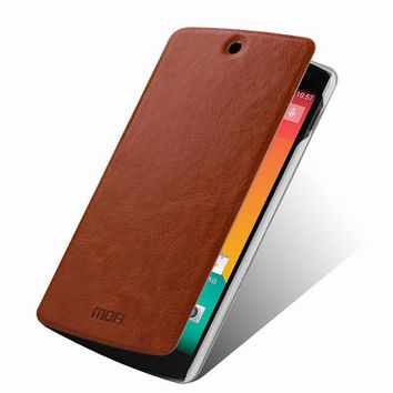 Genuine Leather Wallet Stand Case For LG Google Nexus 5 E980 D820 D821 Mobile Phone Bag Cover Black Retail Package
