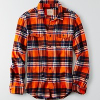 AEO HERITAGE BUTTON DOWN FLANNEL