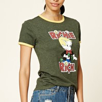Richie Rich Graphic Ringer Tee