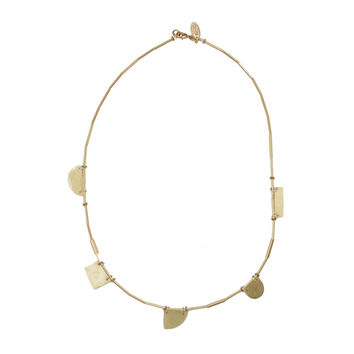 Annie Costello Brown - Small Cutout Shapes Necklace