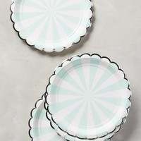 Carnival Stripe Plates by Anthropologie