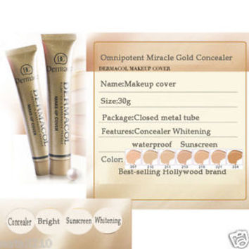 Dermacol Make-up Cover Waterproof SPF30 Concealer FilmStudio foundation 30g