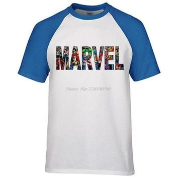 MARVEL Men Raglan sleeve T shirt