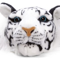 White Tiger Plush Fanny Pack