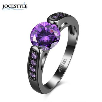 Black Ring for Women Clear Crystal Retro Style Rings for Women Accessory Zircon Wedding Ring for Women 2017 Fashion Spinner anel
