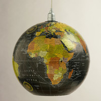 "15"" Globe Hanging Pendant Lamp - World Market"