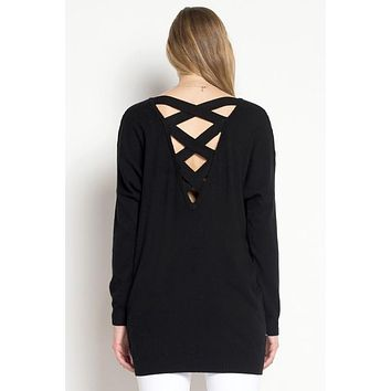 The Maddie Criss Cross Sweater