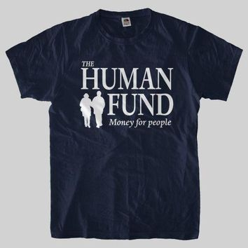 HUMAN FUND George Costanza SEINFELD Larry David T Shirt Men'S Tees