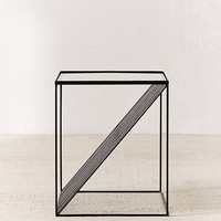 Optic Lines Side Table | Urban Outfitters