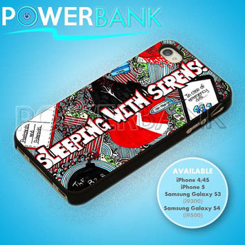 Sleeping With Sirens Cover Fanart - iPhone 4/4s/5 Case - Samsung Galaxy S3/S4 Case - Black or White