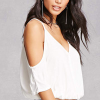 Lush Open-Shoulder Top