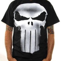 The Punisher T-Shirt - Silver 3D