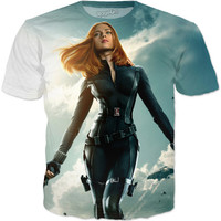 Captain America: The Winter Soldier-Black Widow