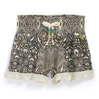 Roxy 'Sandy Side' Shorts (Toddler Girls)