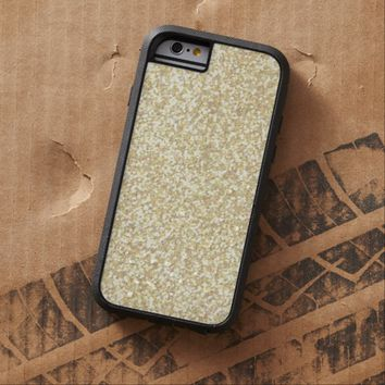 Cool Light Gold Glitter Tough Xtreme iPhone 6 Case