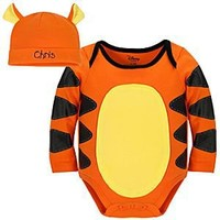 Tigger Disney Cuddly Bodysuit Set for Baby - Personalizable | Disney Store